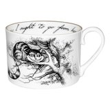 Alice in Wonderland Cheshire Cat Tea Cup and Saucer_