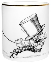 Alice in Wonderland Mad Hatter - Cutesy Candle