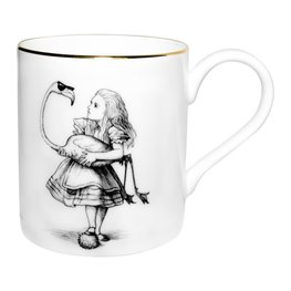 Alice in Wonderland Flamingo - Majestic Mug