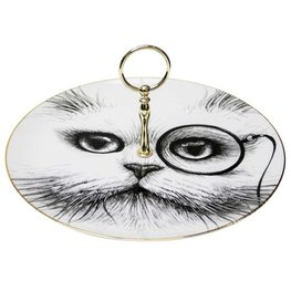 Cat Monocle - Cake Stand