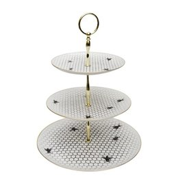 Bees All Over - 3 Tier Cake Stand