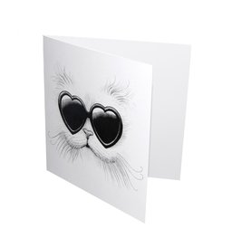 Love Cat - Card