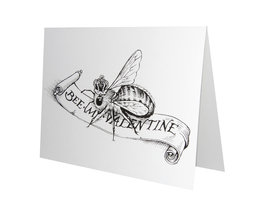 Bee My Valentine - Card