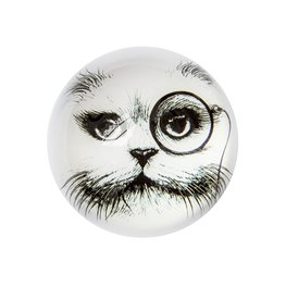 Cat Monocle - Paperweights