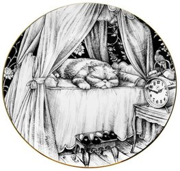 Claude The Cat - Plate