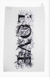 Love Flowers - Tea Towel