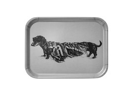 Grey Hot Dog Small - Tray