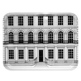 Beautiful Buildings Stripe Large - Tray