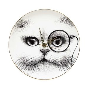 Cat Monocle - Tick Tock Clock